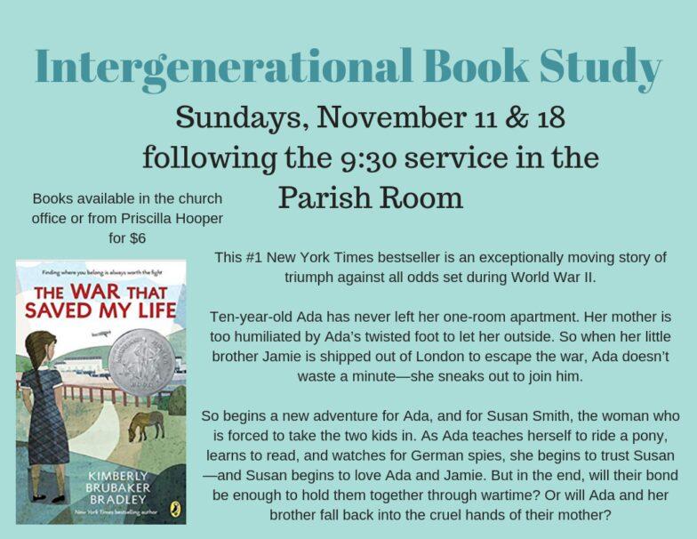 Intergenerational Book Study2