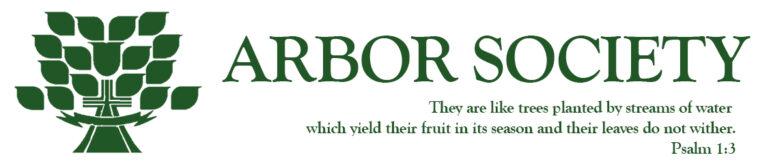 Arbor Society Header