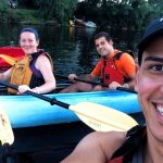 Kayaking on the Farmington River