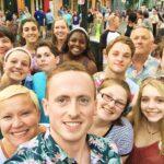 Group Selfie at Pride