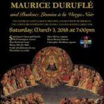 2018 03 03 Durufle Requiem
