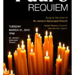 Fauré Requiem, Holy Week 2015